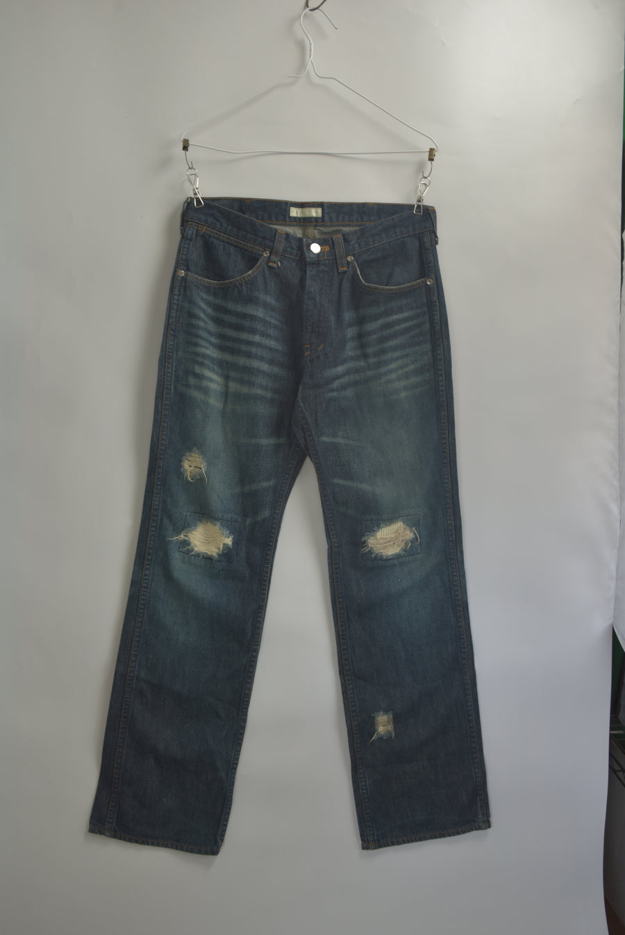 NUMBERNINE / Damege Denim Pants / 8182 - 0703 64