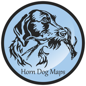 Horn Dog Maps Logo