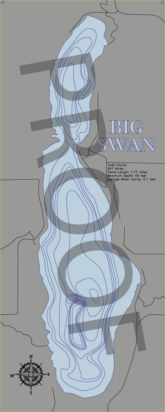 Big Swan (Todd) - horn-dog-maps