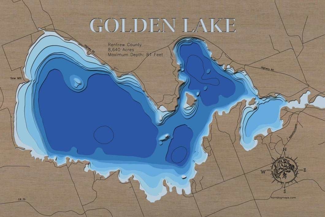 Golden Lake in Renfrew County, ON