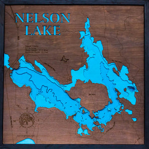 Nelson Lake in Sawyer County, WI