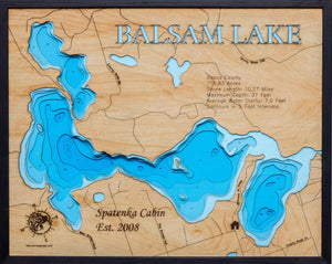 Balsam Lake in Itasca County, MN