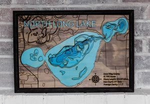North Long Lake (Crow Wing) - horn-dog-maps