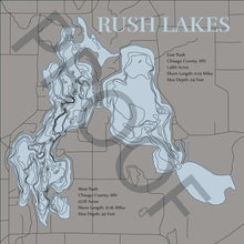 Load image into Gallery viewer, Rush (Chisago) - horn-dog-maps