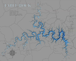 Table Rock - horn-dog-maps