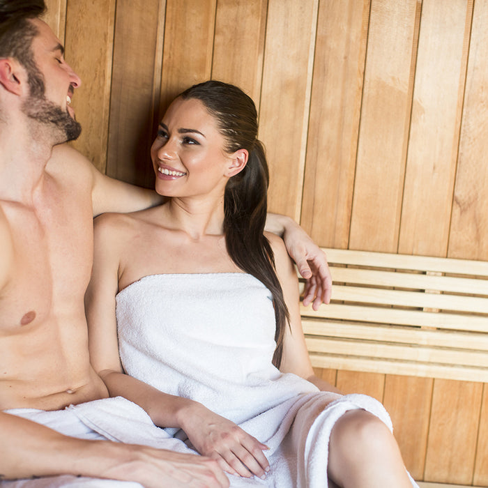 A Winter Saunas Help Make You Happy