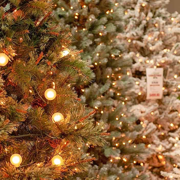 Artificial Christmas Trees in Chattanooga, Knoxville, & Asheville