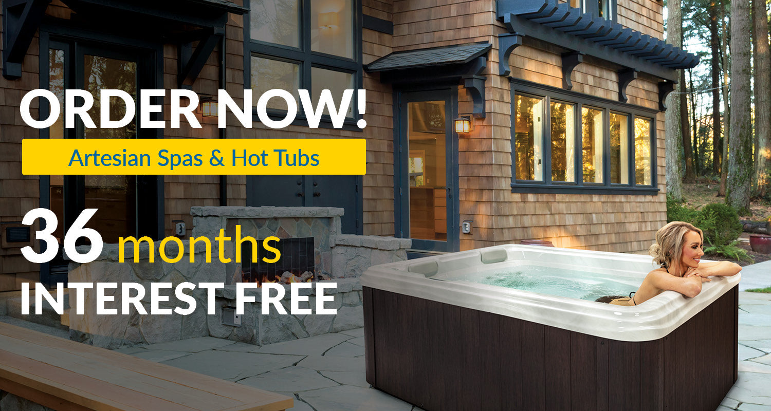 Economy Hot Tubs by Artesian Spas | 36 Months Interest Free Financing