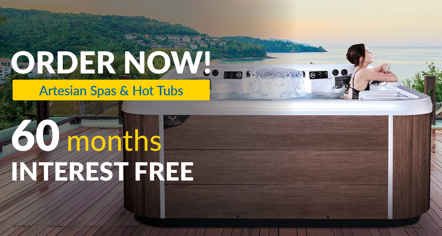Luxury Hot Tubs by Artesian Spas   60 Months Interest Free Financing