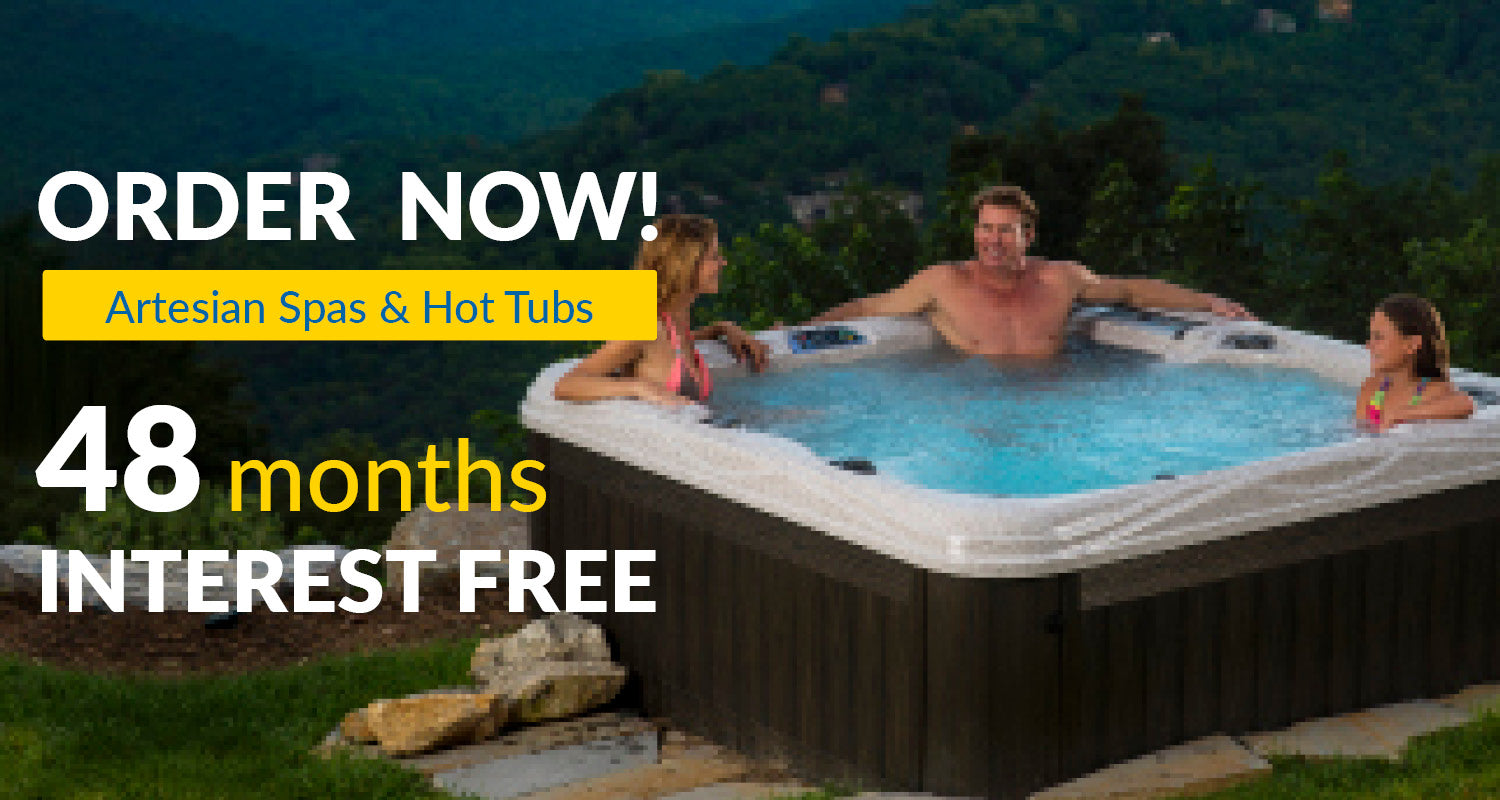 Therapy Hot Tubs by Artesian Spas | 48 Months Interest Free Financing