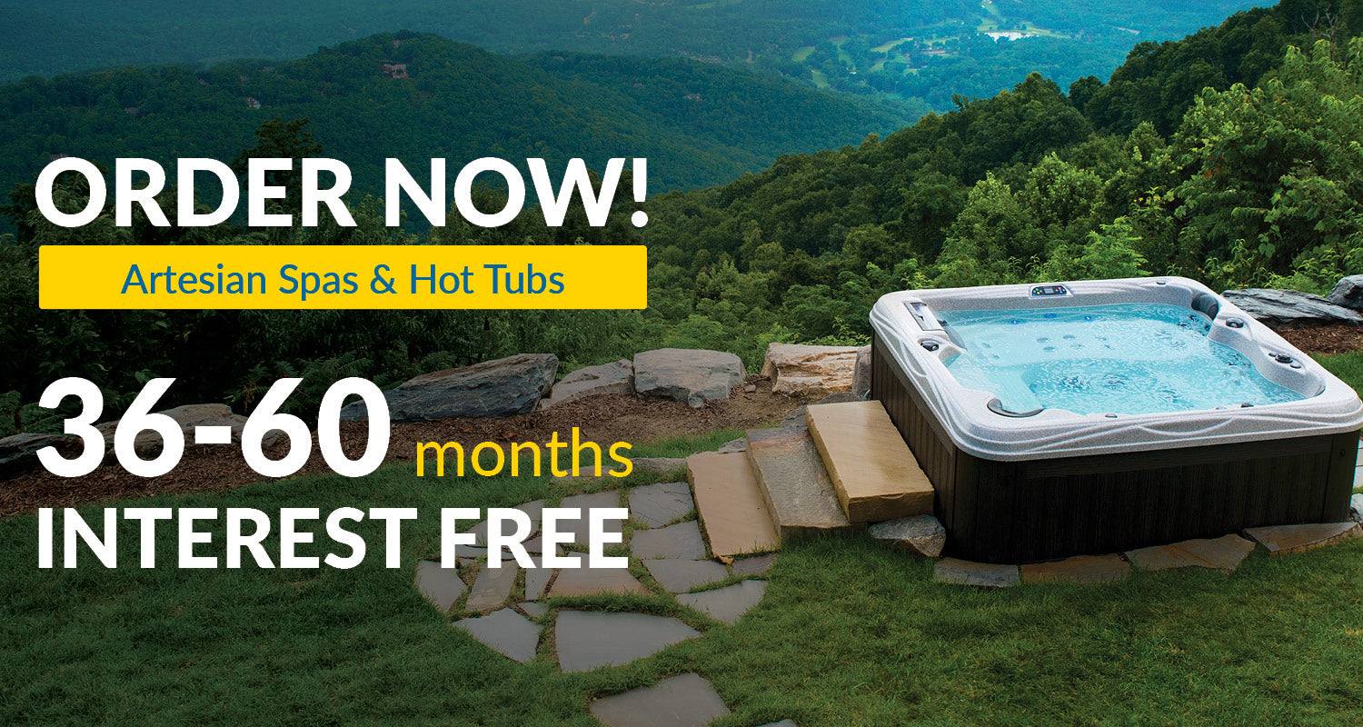 Luxury Hot Tubs by Artesian Spas | 60 Months Interest Free Financing