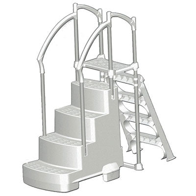 Step/Ladder Above Ground Pool Entry System
