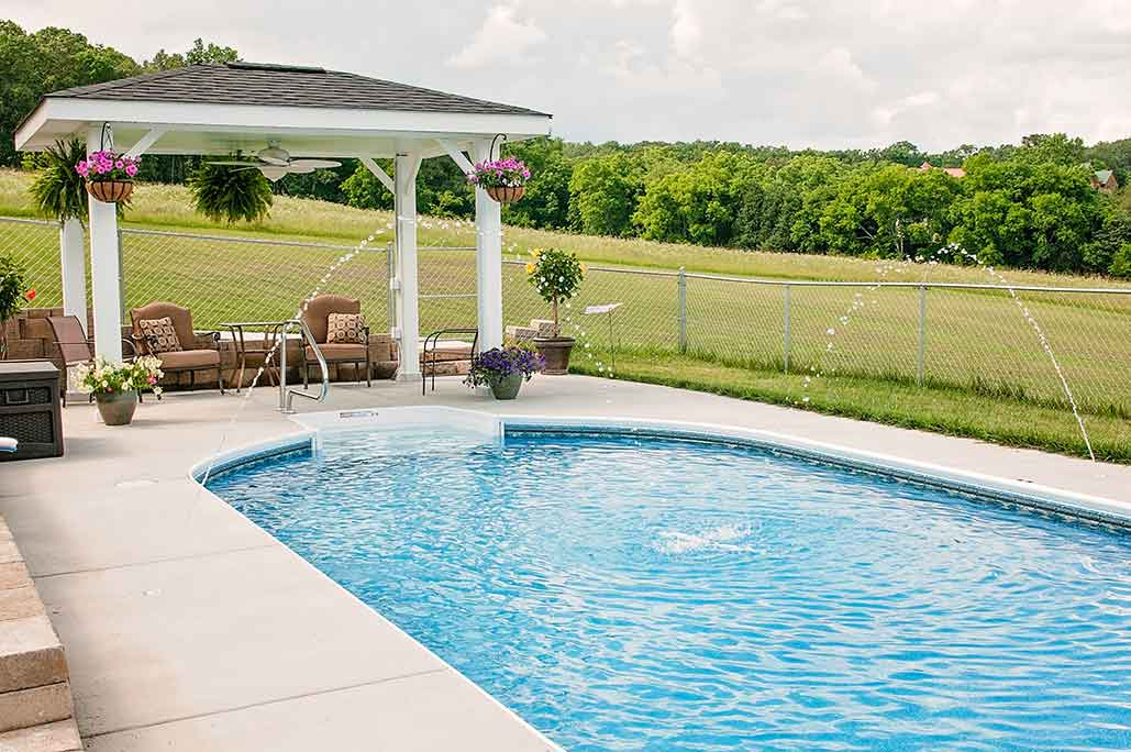 PoolBlue Inground Oval Swimming Pool
