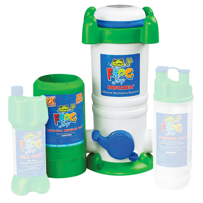 Pool Frog Leap Infuzer System Great Backyard Place