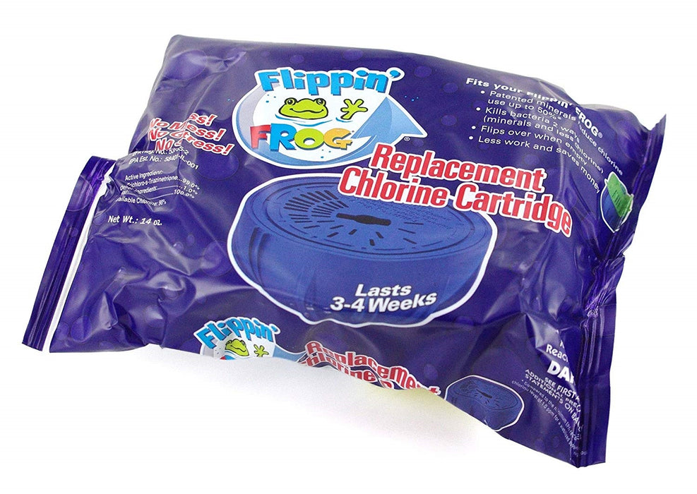 Flippin Frog Replacement Chlorine Pack