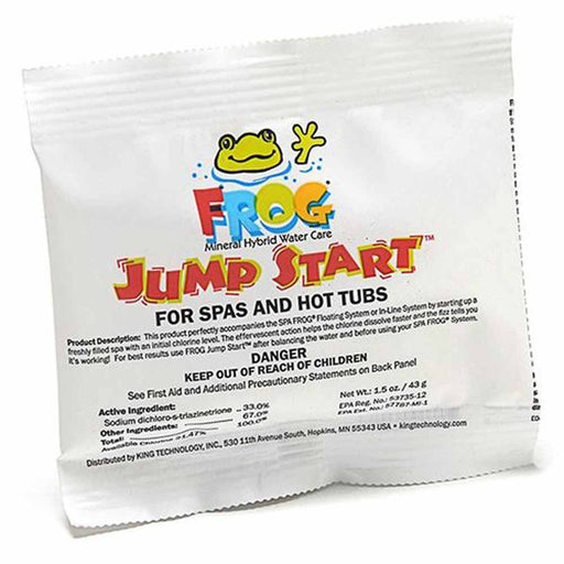 Spa Frog Hot Tub Mineral Jump Start Shock Chlorine Packets