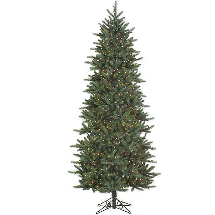 Evergreen 4.5' Pre-Lit Permanent Christmas Tree (200 M) by Santa'S Own - 115ML