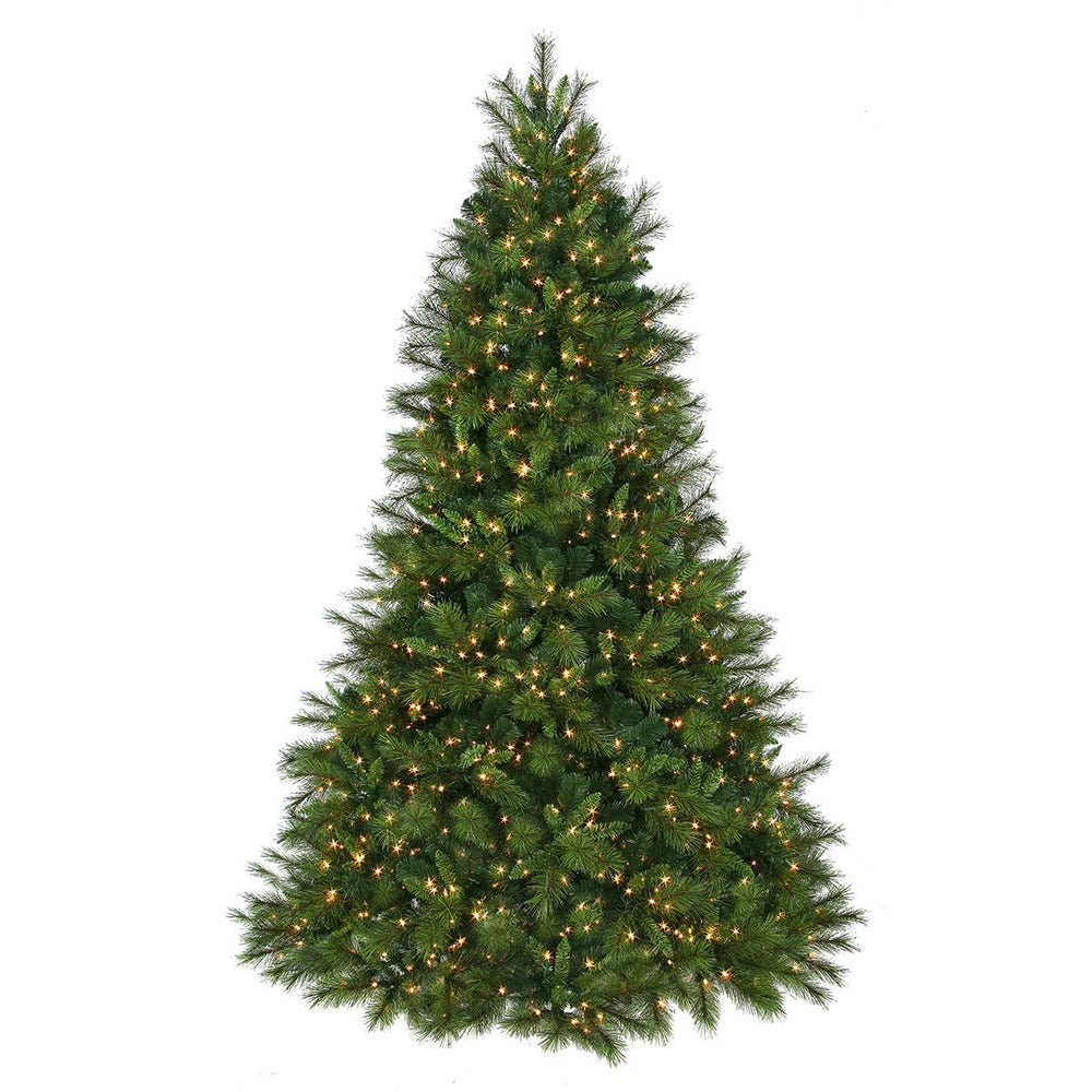 Brussells 6.5' Pre-Lit Permanent Christmas Tree (650 CL) by Regency Trees - 244L