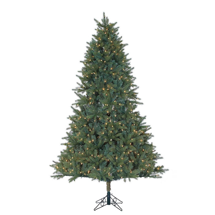 Ashford Spruce 6.5' Pre-Lit  Permanent Christmas Tree (400 Staylit CL) by Santa'S Own - 254PSL