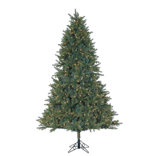Ashford Spruce 7.5' Pre-Lit Permanent Christmas Tree (750 Staylit CL) by Santa'S Own - 256PSL
