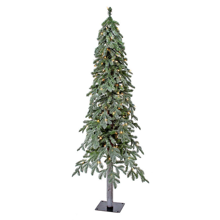 Alpine Frost 5' Pre-Lit Permanent Christmas Tree (150 CL) by Regency Trees - 29L