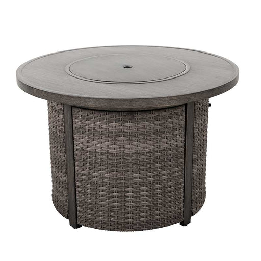Tenaya Wicker Gas Fire Pit