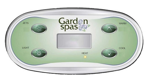Artesian South Seas Spas™ Topside Control Panel