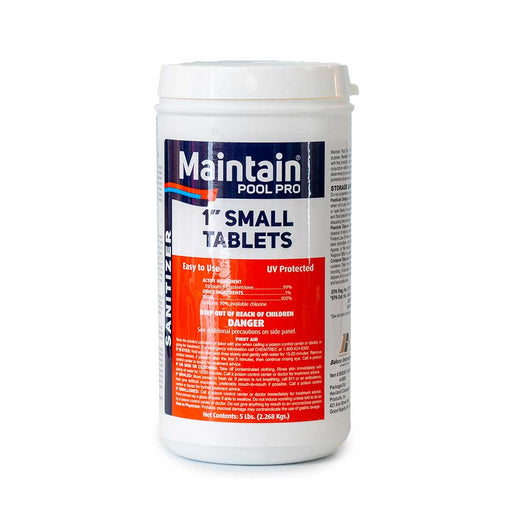 "Maintain Pool Pro 1"" Chlorine Tablets 5lbs."
