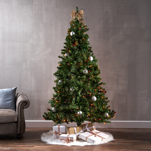 Noble 7.5 Ft. Pre-Lit Permanent Christmas Tree (850 LED M)