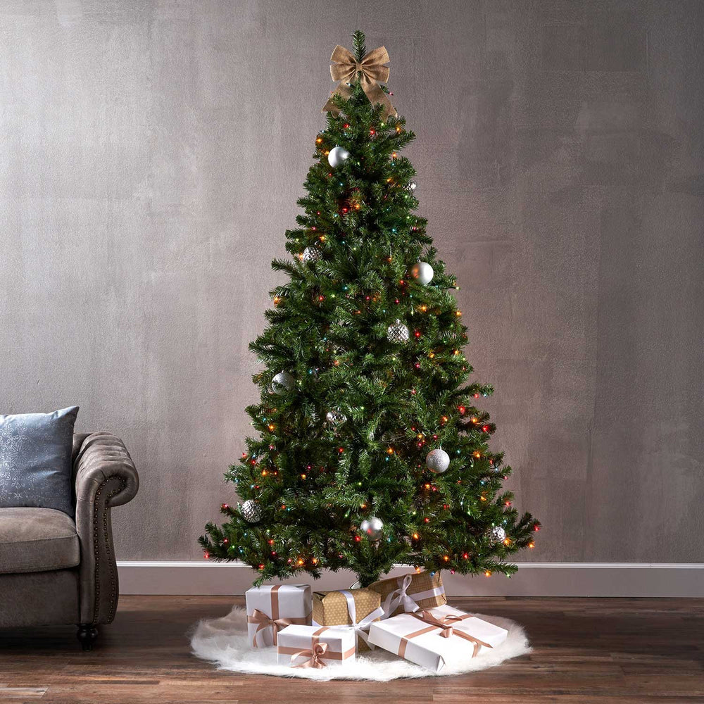 Noble  9 Ft. Pre-Lit Permanent Christmas Tree (1,300 LED M) lifestyle