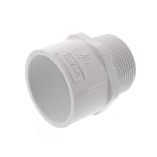 "1 1/2"" PVC SCH 40 Male Adapter #436-015"