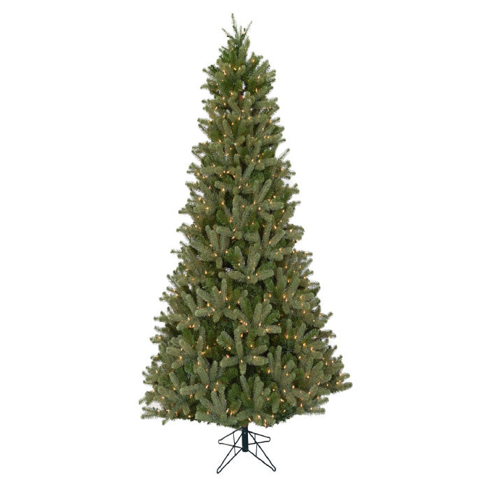 Douglas Fir Slim 9' Pre-Lit Permanent Christmas Tree (800 Staylit CL) by Santa'S Own - 457PSL
