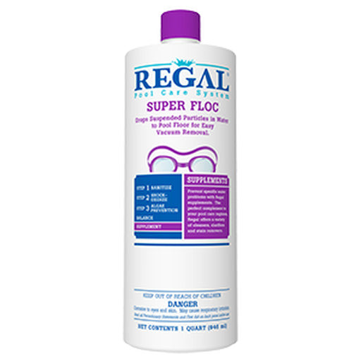 Regal Pool Care Systems Super Floc - 1qt.