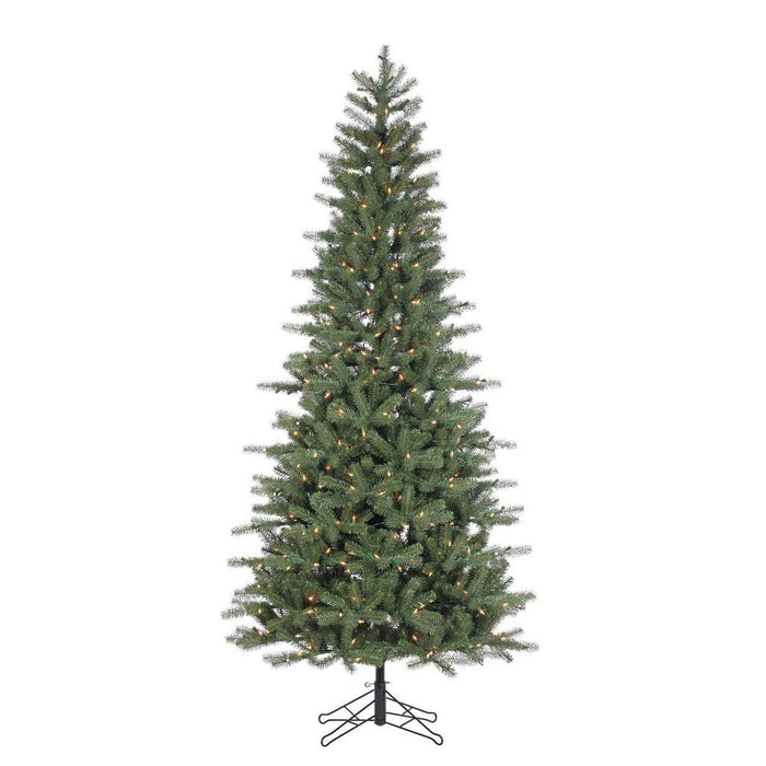Hailey Spruce Slim 7.5' Pre-Lit Permanent Christmas Tree (450 Staylit CL) by Santa'S Own - 540PSL