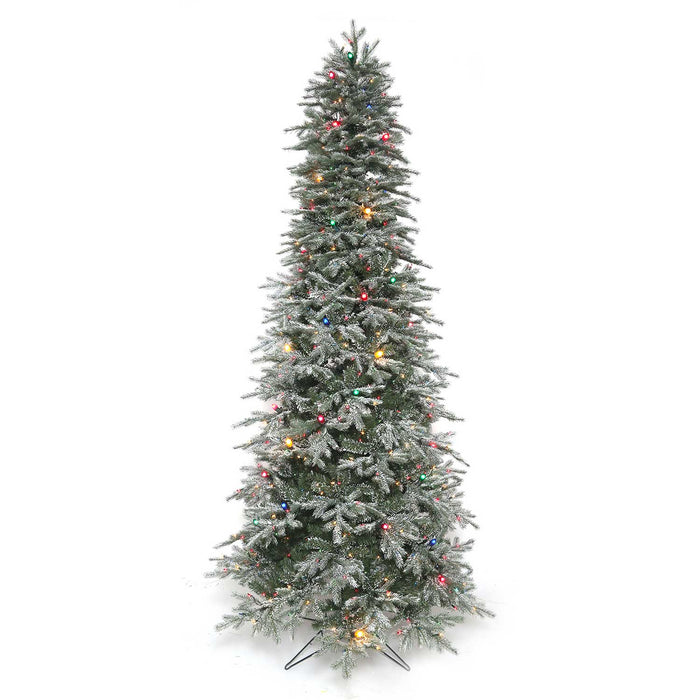 Vermont Frost 7.5 Ft. Pre-Lit Permanent Christmas Tree (550 Multi + C7)