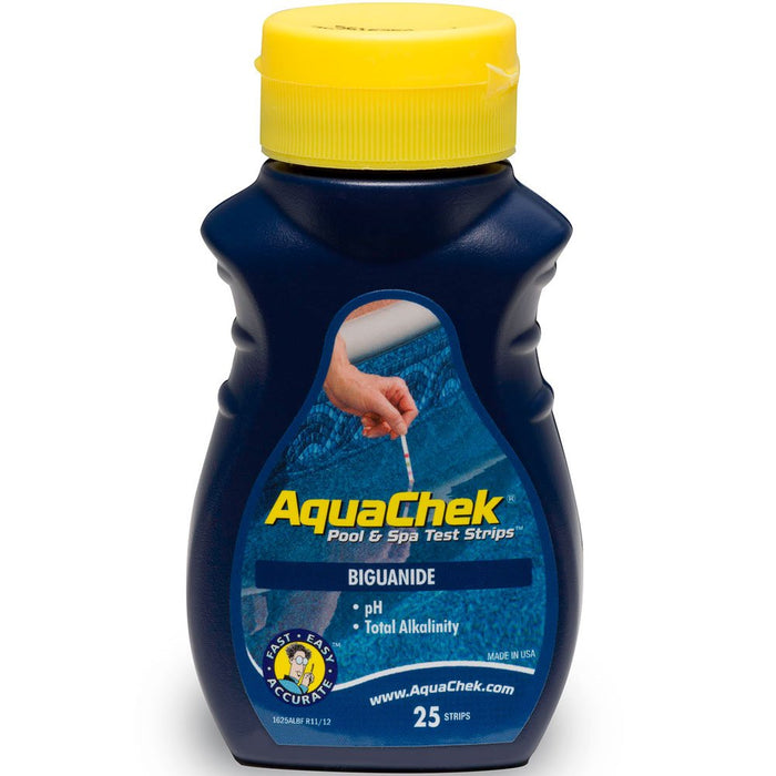 AquaChek Blue Biguanide Test Strips for Swimming Pools