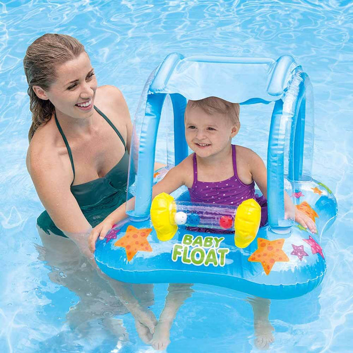 Kiddie Float with Canopy Shade
