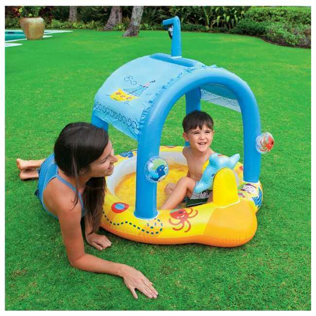 Lil' Captain Inflatable Baby Pool