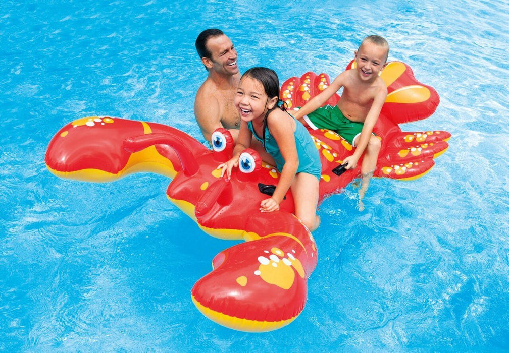 Lobster Ride-On Inflatable Pool Float