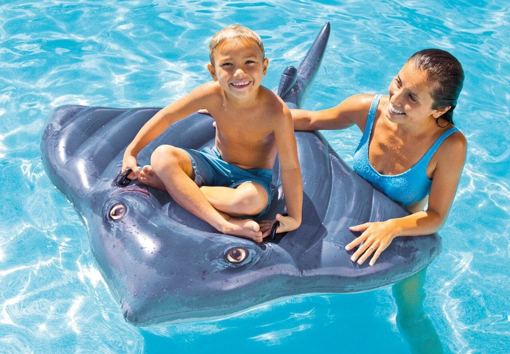 Stingray Ride-On Inflatable Pool Float