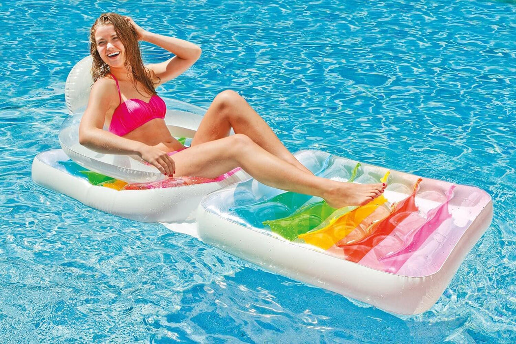 Folding Inflatable Lounge Water Chair
