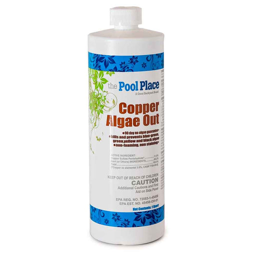 Pool Place Copper Algae Out - 1 Qt.