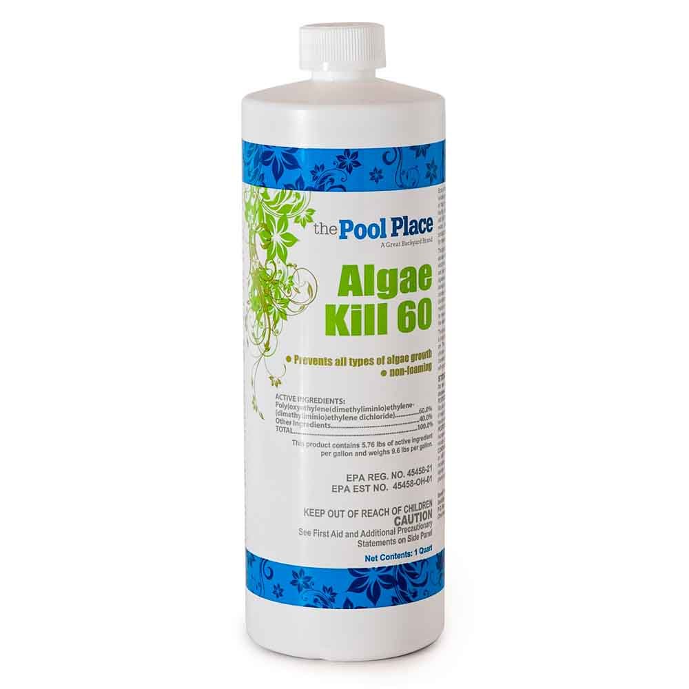Pool Place Algae Kill 60  - 1 Qt.