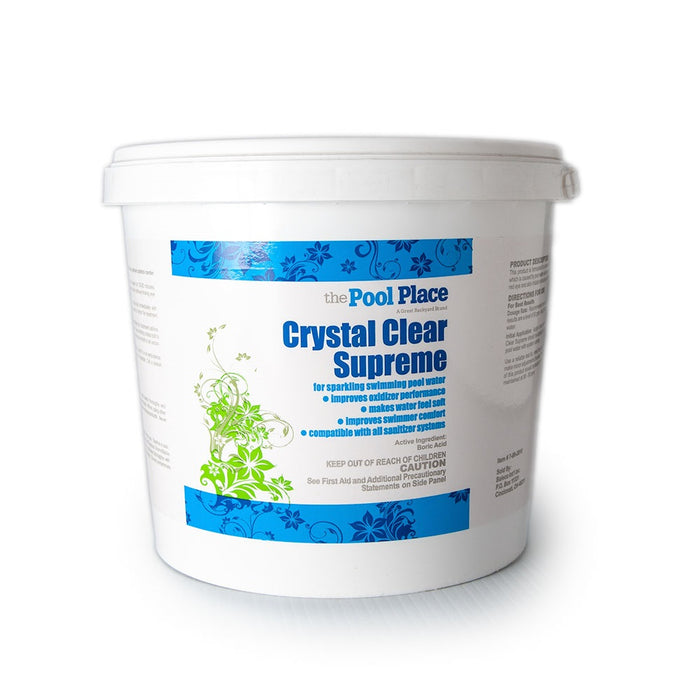 Pool Place Crystal Clear - 25 Lbs.