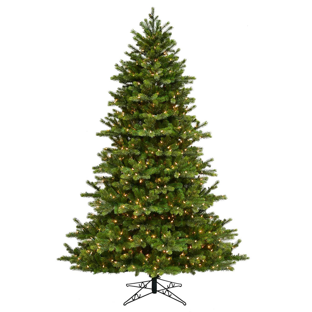 Leeland Fir 7.5' Pre-Lit Permanent Christmas Tree (700 Staylit CL)