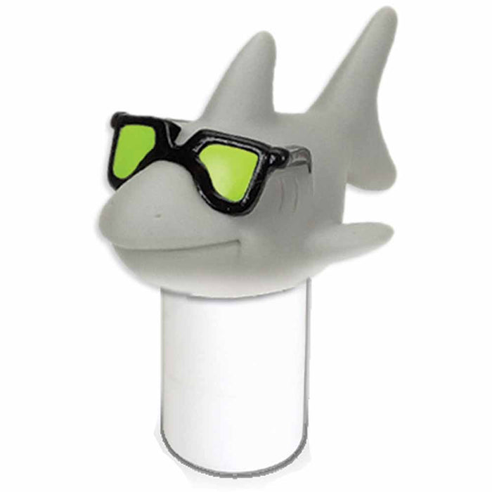 HydroTools Large Capacity Floating Cool Shark Pool Chemical Dispense