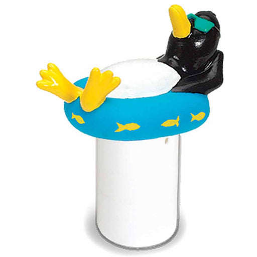 Large Capacity Floating Penguin Pool Chemical Dispenser