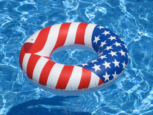 Americana Inflatable Swim Ring