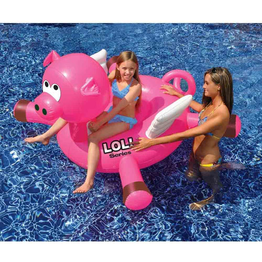 LOL  Flying Pig Inflatable Swimming Pool Float