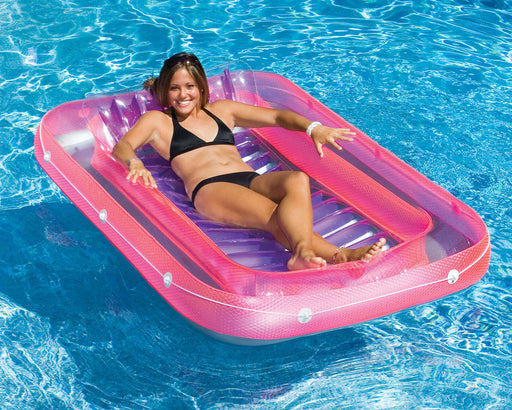 "70"" Swimming Pool Inflatable Suntan Tub Lounger"